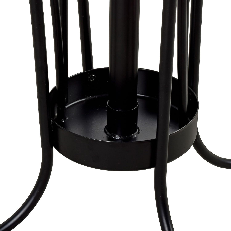 Amazoncom Leisure Space Coat Rack With Umbrella Stand (Black) Kitchen
