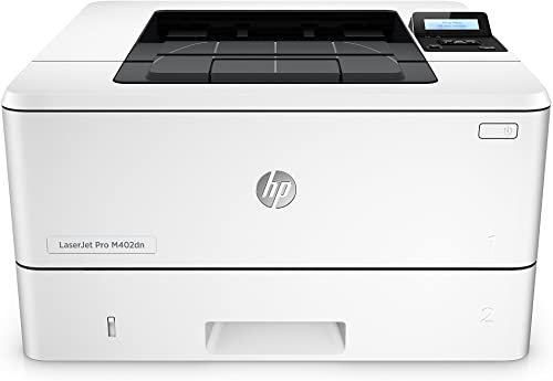 HP Laserjet Pro M402dn Monochrome Printer, Amazon Dash Replenishment Ready C5F94A Renewed
