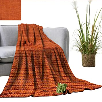 Astounding Amazon Com Smllmoondecor Burnt Orange Blanket For Sofa Machost Co Dining Chair Design Ideas Machostcouk