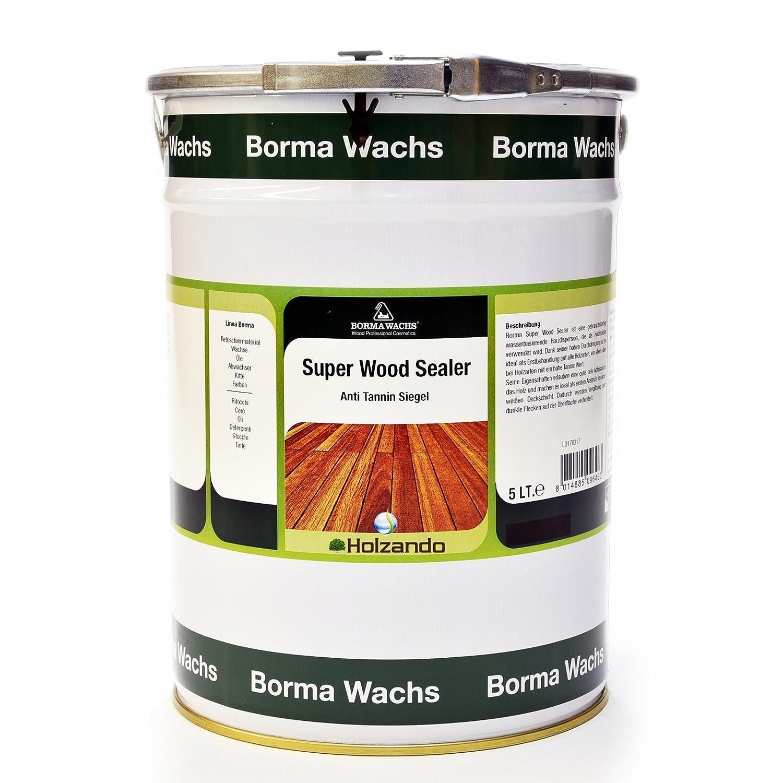 Super Wood Sealer - Tanninsperre Grundierung (750ml) Borma Wachs