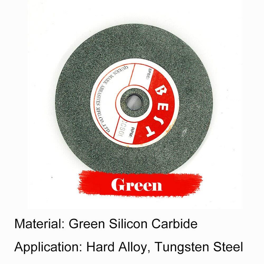Gris /125x16x12.7mm meule abrasive de rechange 1x Meule pour touret /à meuler 80# pour le meulage de pr/écision et meulage rapide