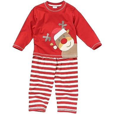 05704d1eb0190 Fille Garçon Enfant Cute Rennes Noël À Rayures Pyjamas - 3-4 ans ...
