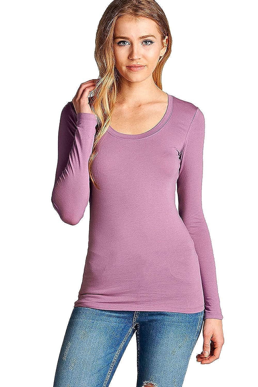 154 arfurt Women's Long Sleeve Button Down Casual Dress Shirt Business Blouse