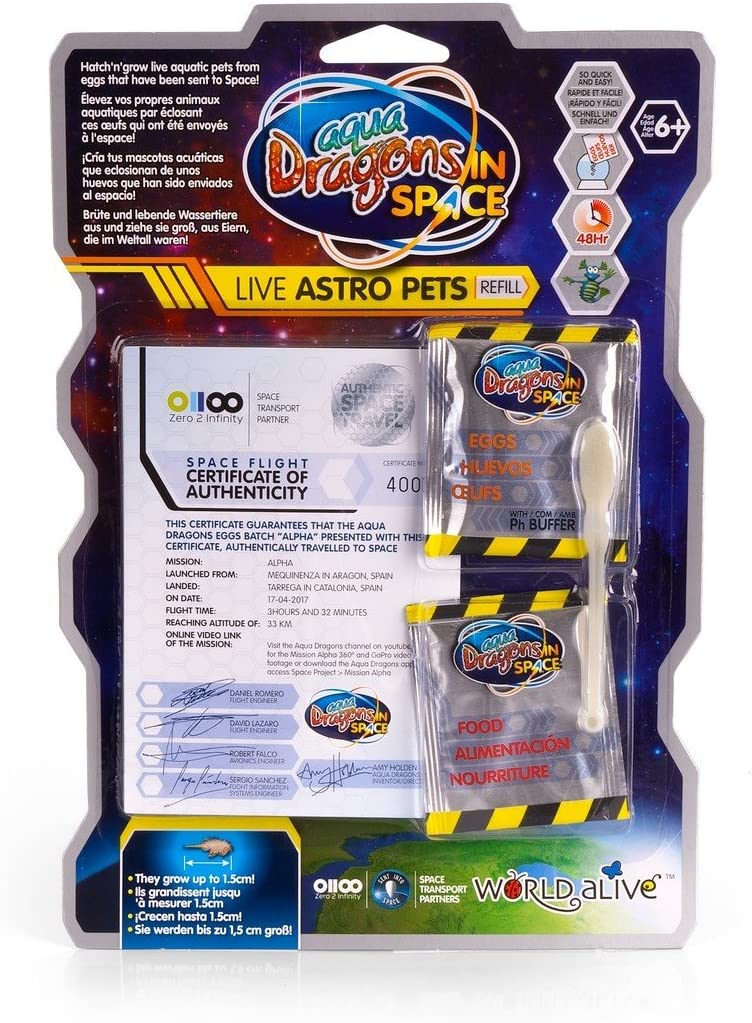Aqua Dragons Live Astro Pets Refill