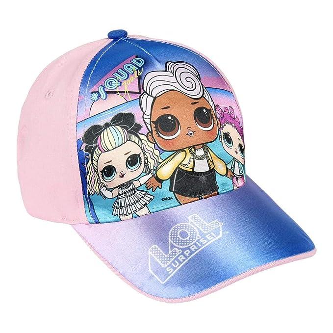 Surprise Colore Fuxia Lol Surprise Cappello con Visiera L.O.L