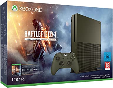Xbox One - Pack Consola S 1 TB: Battlefield 1: Amazon.es: Videojuegos