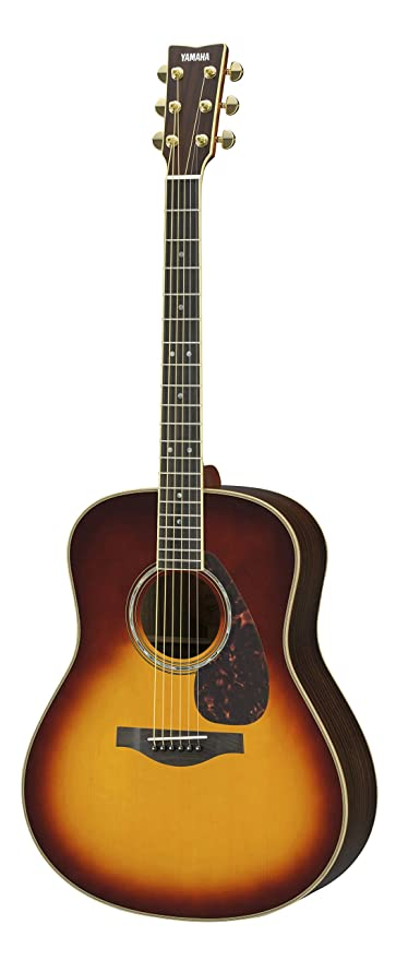 Yamaha L-Series LL16 Acoustic-Electric Guitar with Gig Bag - Brown Sunburst