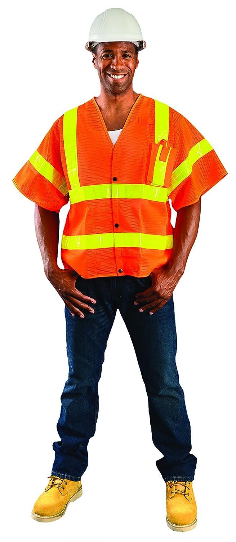 Occunomix Occlux Ansi Hslv Mesh Vest 3X Orange