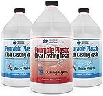 3 Gallon DEEP Pourable Plastic Casting Resin 2