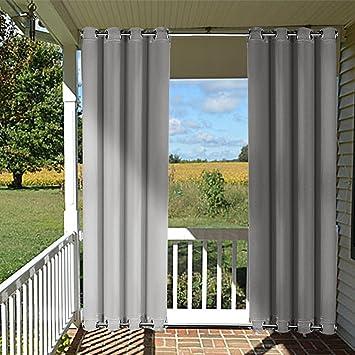 Wind Break Outdoor Curtain Panel
