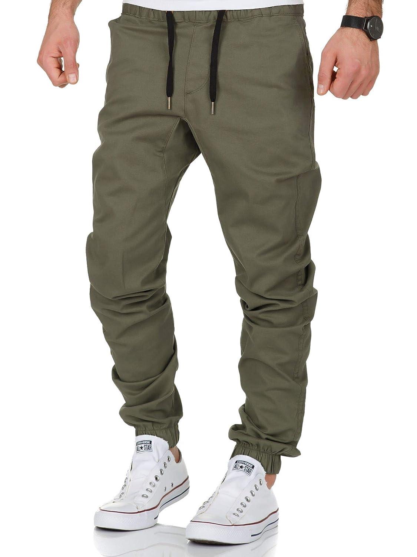 REPUBLIX Lässige Herren Cargo Jogger Chino Hose Pants Mit Stretch R0702