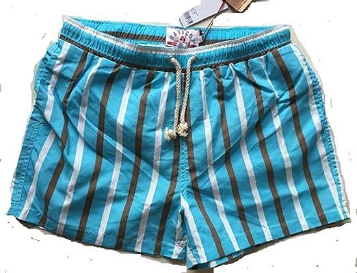 c73c5ff002 Havacoa Mens Swim Shorts Surf Stripe Large (32): Amazon.co.uk: Clothing