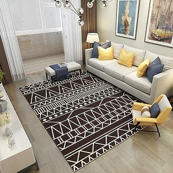 Tapis Salon Moderne Chambre Table Basse Canapé Chambre étude Rectangulaire  Table Basse Chevet Armoires Ordinateur Chaises