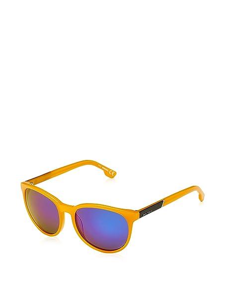 Diesel Mujer Gafas de sol, Amarillo (Yellow), 54: Amazon.es ...