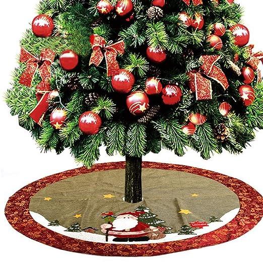 Estera de la falda del árbol navidad, 120 cm Estupendo regalo de ...