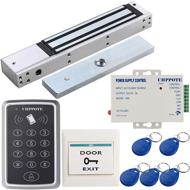UHPPOTE 125KHz B07MCS99XH UL認証 ドアアクセスコントロールキット 電磁錠 280kg保持力磁気ロック 電磁錠 UL認証 B07MCS99XH, 御蔵島村:d5cc6774 --- ero-shop-kupidon.ru