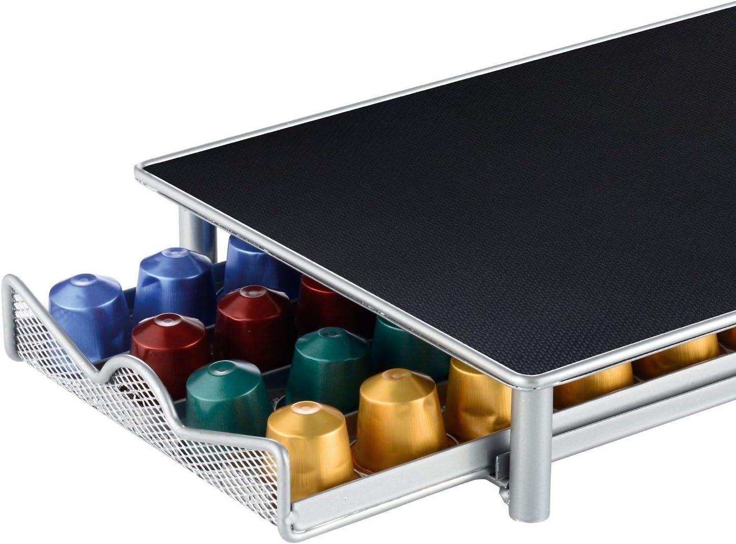 Kabalo Caj/ón de la m/áquina de c/ápsulas de caf/é para dispensador de Soporte de Almacenamiento de c/ápsulas Nespresso 40