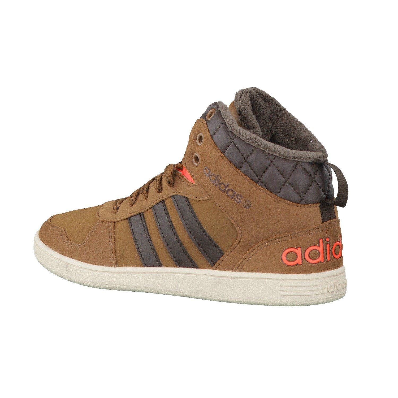 Adidas Neo Hoops Mid K Schwarz Kinder Online : Stiefeletten