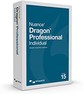 Dragon Professional Individual 15, Upgrade from Dragon Professional 12 or 13 or DPI 14, Dictate Documents and Control your PC – all by Voice, [PC Disc]
