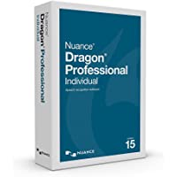 Dragon Professional Individual 15.0, English Speech Recognition Software