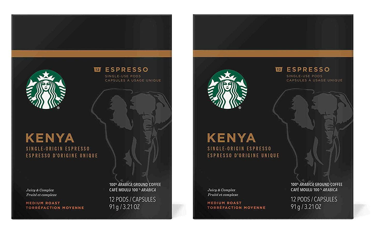 Starbucks Kenya Espresso Verismo Pods (24 Count)