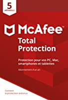 McAfee Total Protection 2019 5 Appareils