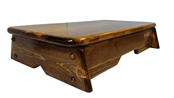 """Gaglio Wood Products Bed Side Step Stool Provencial Stained 11"""" Wide (Made In U.S.A.) by Gaglio Wood Products"""
