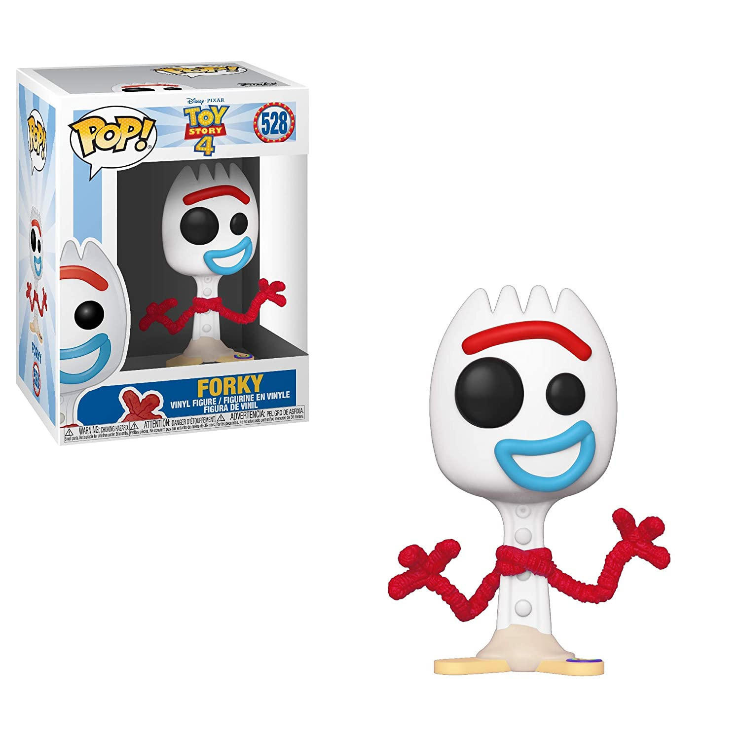 Funko Pop Disney Toy Story 4 Forky Multicolor