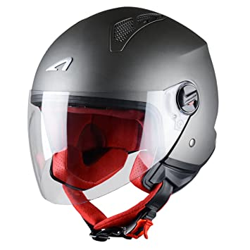 Astone Minim Mini Jet - Casco jet para moto