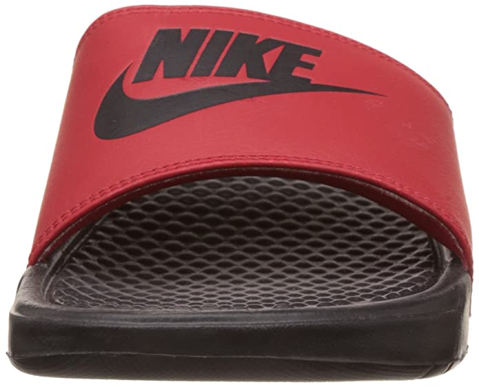 sports shoes 2cfa2 94328 Nike Mens Benassi JDI Mismatch Slide Sandals University Red Black -5.5 UK  India (38.5 EU)(6 US)  Buy Online at Low Prices in India - Amazon.in