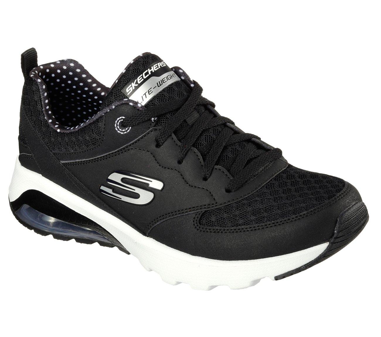 Skechers SKECH AIR EXTREME Women's Trainers Sneaker Air Cooled Memory Foam 38 EU|Bkw