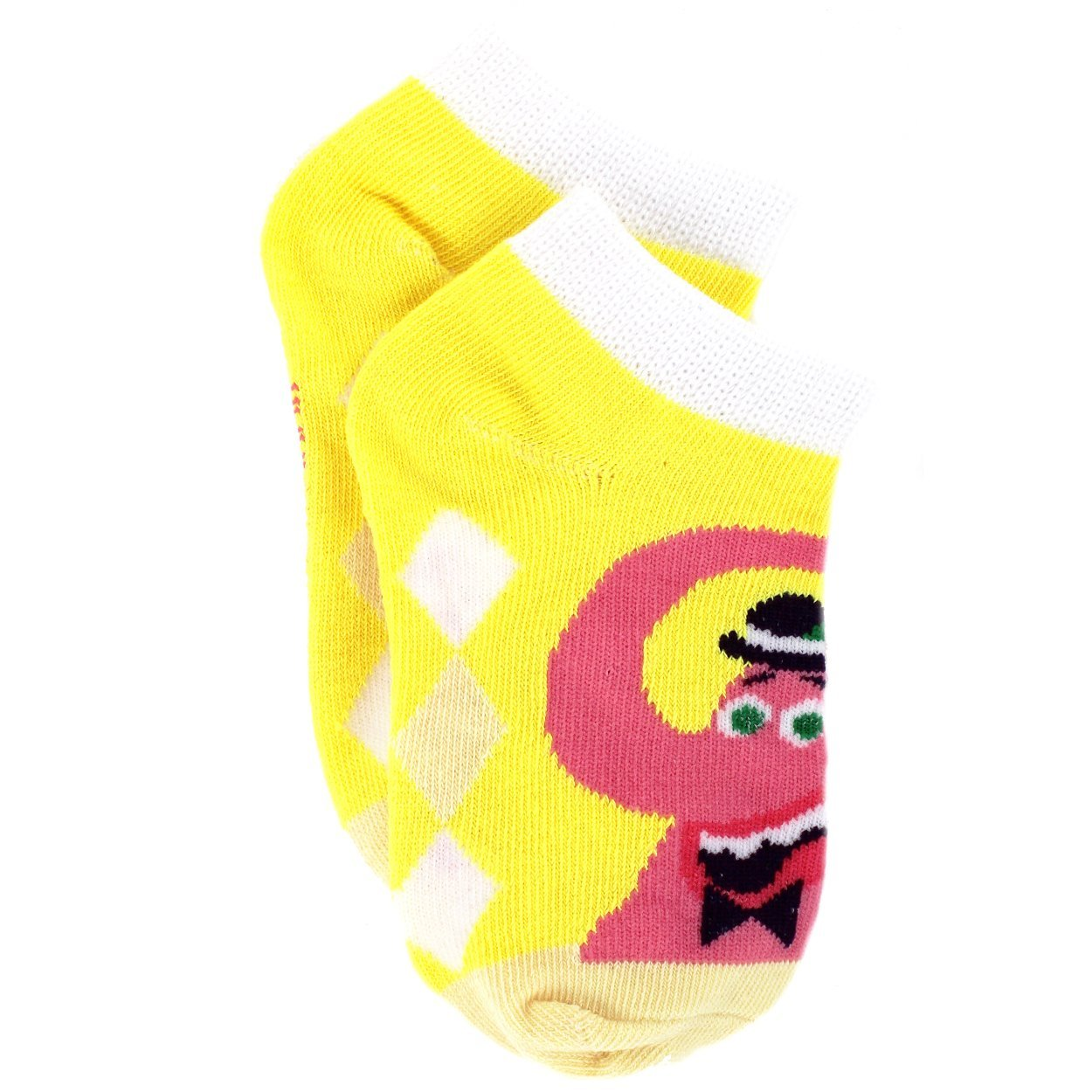 Toddler//Little Kid//Big Kid//Teen//Adult Inside Out Emotions Girls 6 pack Socks