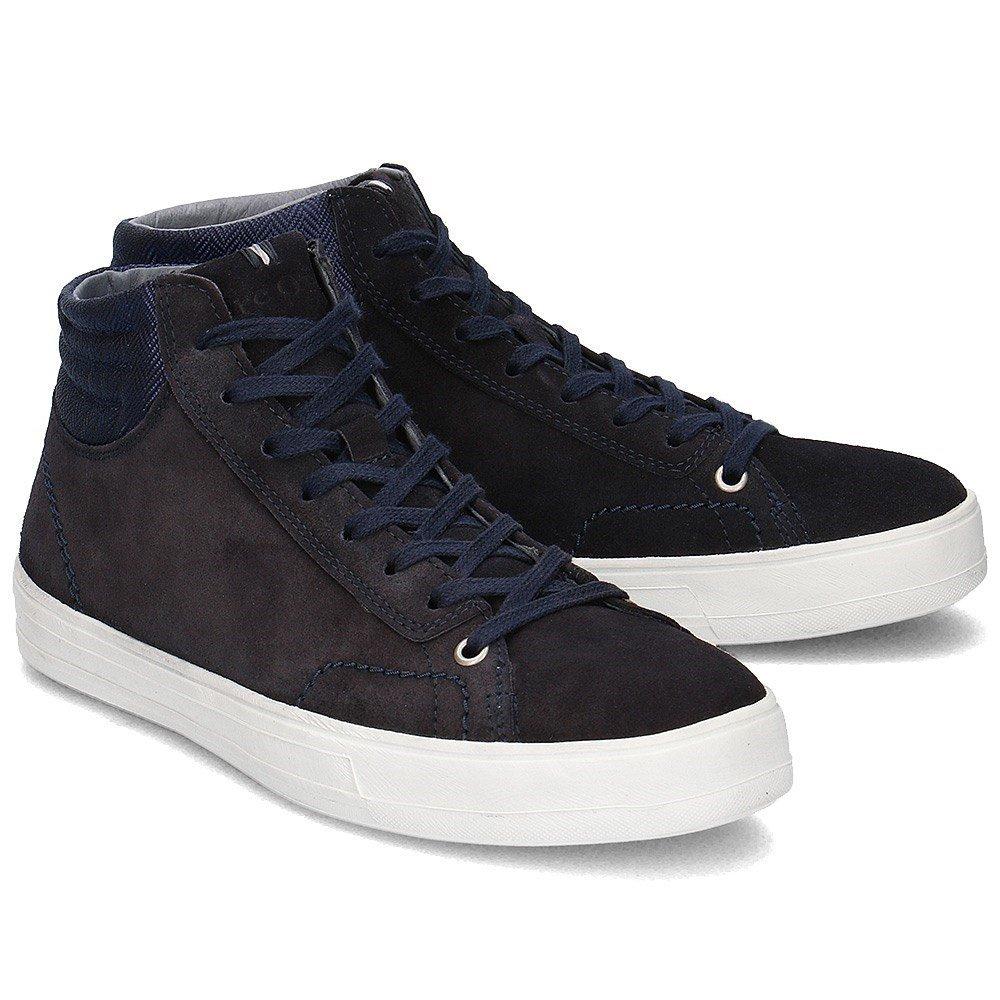 Herren O'polo Calf Sneaker Marc 60723133502302 SuedeDunkelblau uTFclK1J3
