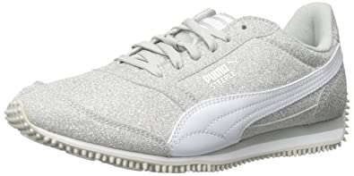 d822d60970240 PUMA Steeple Glitz Aog JR Sparkle Sneaker (Little Kid/Big Kid)