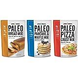 Paleo Mix Variety 3 Pack (1 of Each: Paleo Pizza, Pancake, Bread Mix) (Gluten Free)