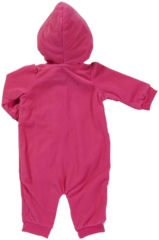 9 Months Carters Hooded Microfleece Jumpsuit Hot Pink Fox
