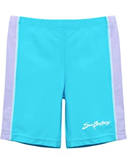 57d4980ff93 SunBusters Girls Swim Shorts 12 mos - 12 yrs, UPF 50+ Sun Protection