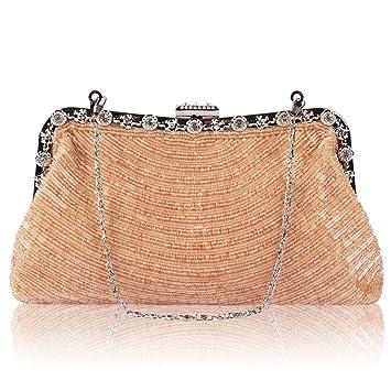 AUMING Cartera de Mano Elegante para Mujer Bolso de Mano Elegante de Lujo del Bolso de ...