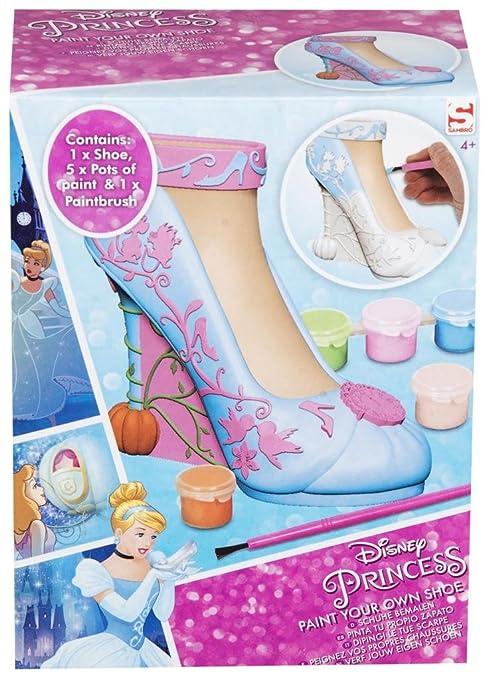 Disney Princess Dcr8 4426 Cinderella Paint Your Own Shoe