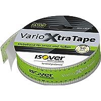 Isover 560122 Vario XtraTape 20 m x 60 mm voor het verlijmen van het klimaatmembraan plakband met vingerlift voor het…