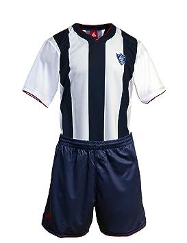 Peak Sport Europe Trikotset Uniform Stripes - Camiseta de equipación de fútbol, color azul, blanco, talla XXL: Amazon.es: Deportes y aire libre