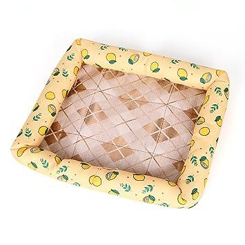 Amazon.com: Perro de mascota de la perrera Cama Gato seda de ...