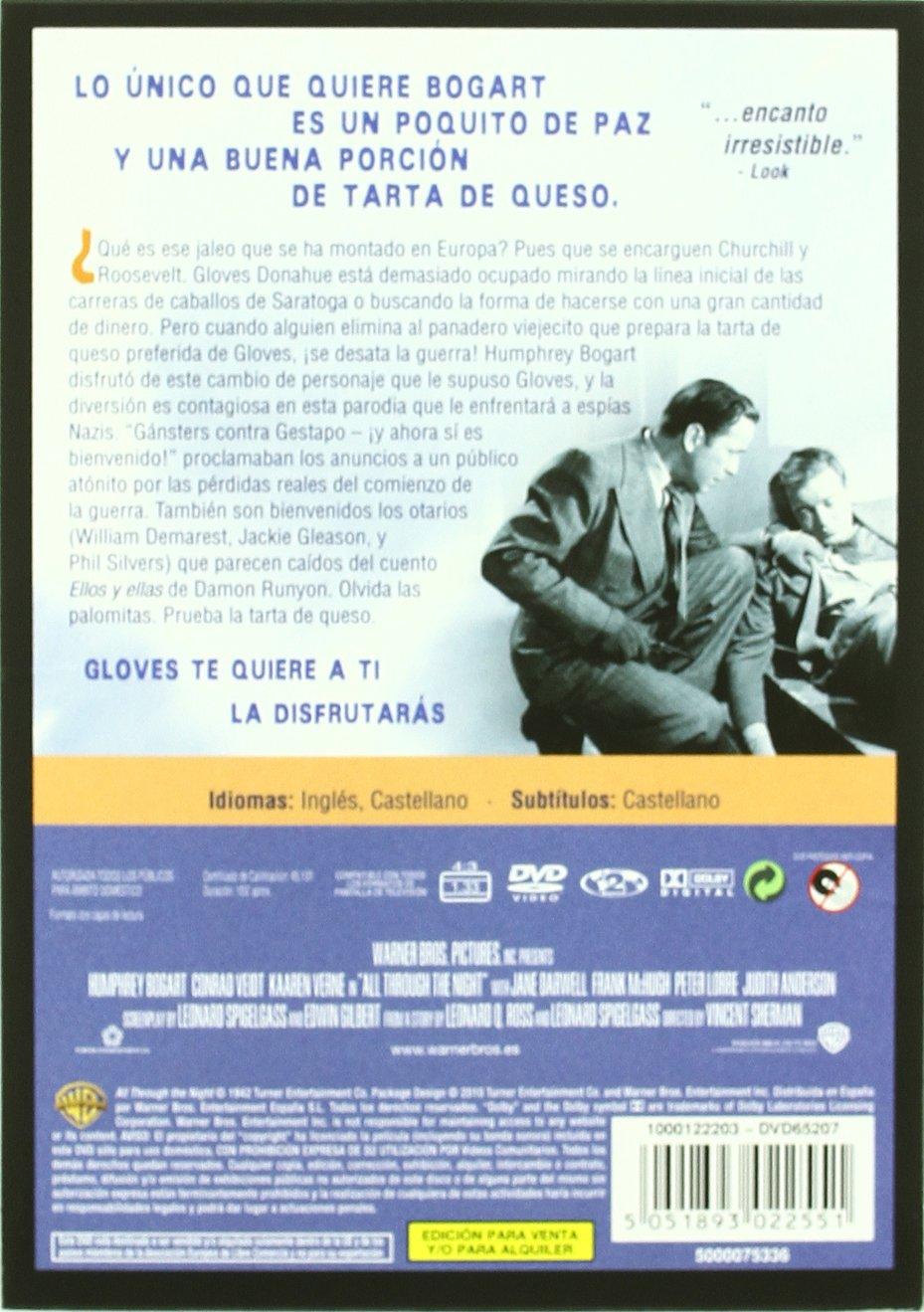 Amazon.com: A Través De La Noche (1941) All Through The ...