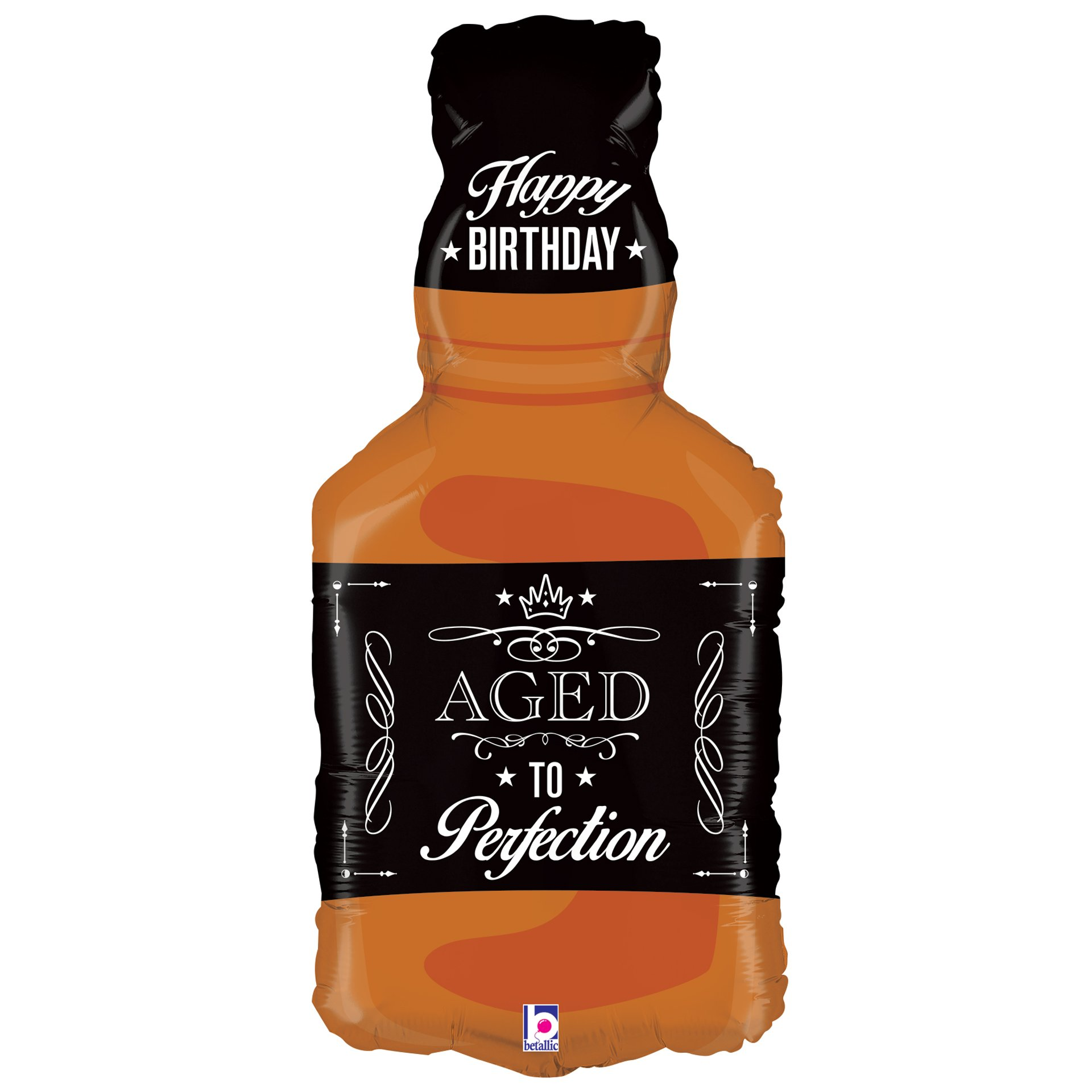 Amazon Betallic Xl 34 Aged To Perfection Whiskey Bottle Super