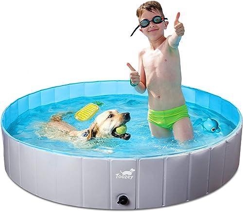 Toozey-Hundepool-für-Große-&-Kleine-Hunde