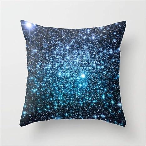 Xukmefat Galaxy Sparkle Stars Periwinkle Azul Turquesa Ombre ...