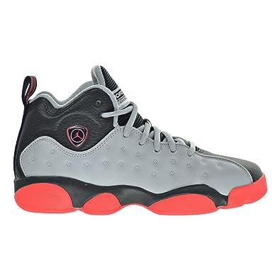 jordan jumpman team 2. jordan jumpman team ii bg big kid\u0027s shoes wolf grey/infrared 23/black 820273 2