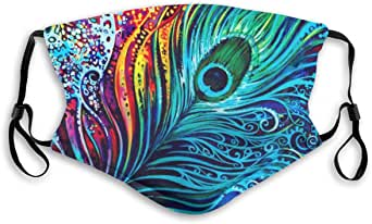 VOSGA Unisex Custom Rave Bandana Neck Gaiter Tube Headwear Bandana, Motorcycle Face Bandana for Women Men Face Scarf