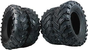 25X8.00-12 25//8-12 TWO Premium Radial ATV UTV Tire Inner Tubes fits 25x8-12