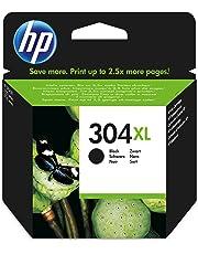 HP N9K08AE 304XL High Yield Original Ink Cartridge Black, Pack of 1